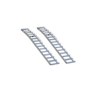 Better Built Aluminum Solid Arched Loading Ramps (2 Pack) 25710050
