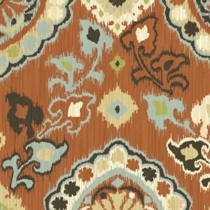 Hampton Bay Fontina Spice Outdoor Fabric by the Yard DISCONTINUED AD18540 D10