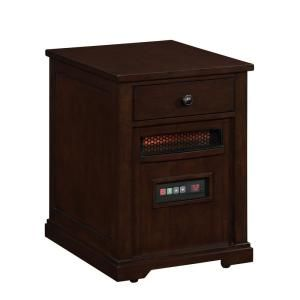 Duraflame 1500 Watt Electric Infrared Quartz Heater with Drawer   Espresso 10HET6493 E444
