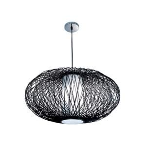BAZZ VIBE Collection 1 Light Hanging Chrome Pendant LU8025