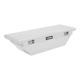 Husky 62 in. Aluminum Polished Mid Sized Low Profile Truck Box THD62LP