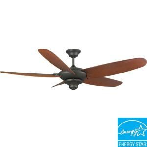 Hampton Bay Altura 60 in. Indoor/Outdoor Oil Rubbed Bronze Energy Star Ceiling Fan 52356
