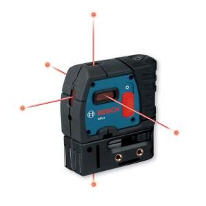 Bosch Self Leveling 5 Point Plumb and Square Laser GPL 5S