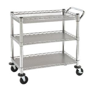 Seville Classics Heavy Duty Utility Cart SHE99307