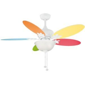 Hampton Bay Harper II 44 in. White Ceiling Fan AC324A WH