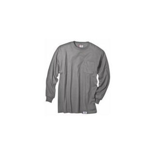 Dickies Extra Large Gray Mens Long Sleeve T Shirt  WL511HG XL ARCHIVE