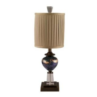 Dale Tiffany 23.5 in. Mardi Gras Antique Bronze Table Lamp PG80519