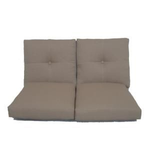 Hampton Bay Westbury Replacement Patio Loveseat Cushion CUSH ACQ07905
