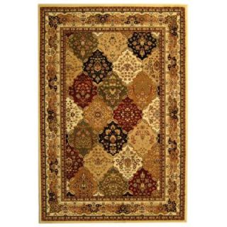 Safavieh Lyndhurst Assorted/Ivory 7 ft. 9 in. x 10 ft. 9 in. Area Rug LNH221A 8