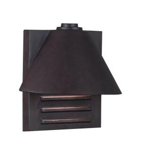 Kenroy Home Fairbanks Small Wall Mount Outdoor Copper Lantern 10160COP