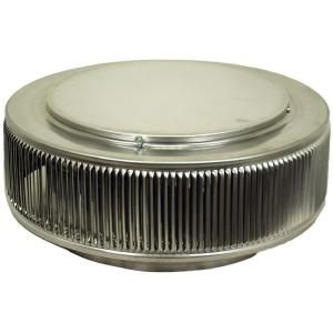 Active Ventilation 12 in. Aluminum Round Retro Fit Roof Vent in Mill Finish AV 12 RF