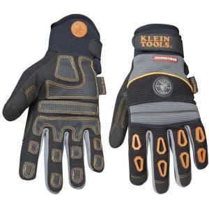 Klein Tools Journeyman Pro Heavy Duty Protection Gloves   Medium 40038