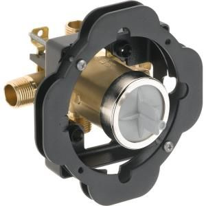 Delta MultiChoice Universal Tub and Shower Valve Body Rough in Kit R10000 UNWSBXT
