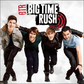 Big Time Rush Album, B. T. R Album, Self Titled Debut Album, Big Time Rush CD