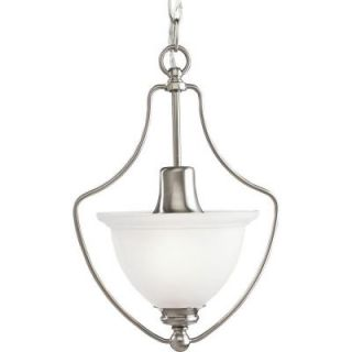 Progress Lighting Madison Collection 1 Light Brushed Nickel Chandelier P3792 09