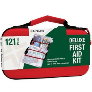 Lifeline 121 Piece Compact Emergency First Aid Kit 4406