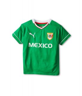 Puma Kids Mexico Tee Boys T Shirt (Green)