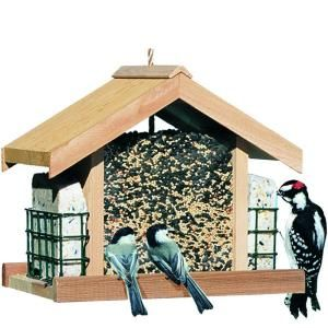 Perky Pet Deluxe Chalet Bird Feeder 50144