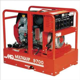 Multiquip 9,700 Watt Honda Portable Gasoline Generator with Recoil or Electric Start Tools