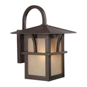 Sea Gull Lighting Medford Lakes Wall Mount 1 Light Outdoor Statuary Bronze Fixture 88882BLE 51