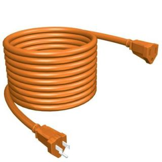 Stanley Heavy Duty Outdoor 100 ft. Orange Extension Cord 155499