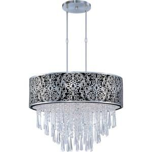 Filament Design Infinite 9 Light Ceiling Nickel Xenon Pendant HD MA43098834