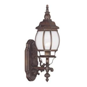 Filament Design Providence Wall Mount 1 Light Outdoor Imperial Bronze Incandescent Lantern CLI MEN7900 58