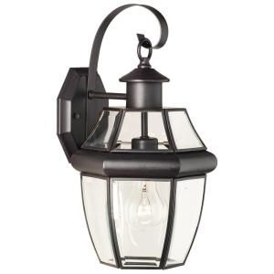 Thomas Lighting Heritage Wall Mount 1 Light Outdoor Painted Bronze Lantern SL942463