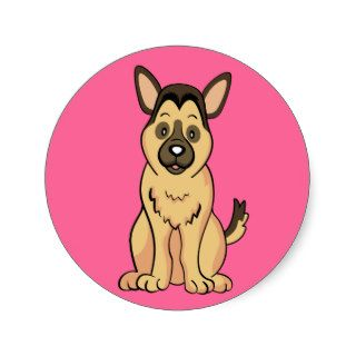 German Shepherd Gifts and Merchandise Stickers