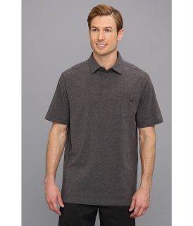 Under Armour Golf Charged Cotton Pocket Polo Mens Short Sleeve Knit (Gray)