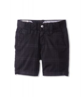 Volcom Kids Frickin Plaid Chino Short Boys Shorts (Black)