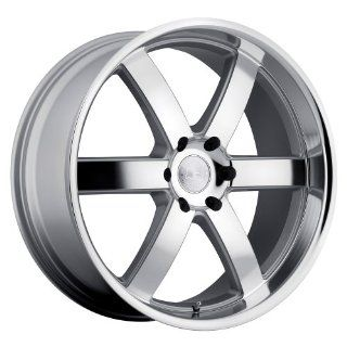 Black Rhino Pondora 20 Silver Wheel / Rim 6x5.5 with a 18mm Offset and a 112 Hub Bore. Partnumber 2085PND186140S12 Automotive