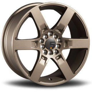 Five Axis R6F 18 Bronze Wheel / Rim 4x100 & 4x4.5 with a 35mm Offset and a 73.10 Hub Bore. Partnumber 5031 87516 35 Automotive