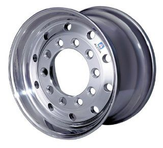 "22.5"" X 12.25"" Stud Piloted Alcoa Aluminum Wheel, 10 11.25"" Bolt Circle (Polished Outside Wheel) Automotive"