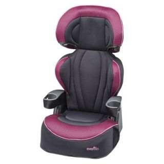 Evenflo Big Kid LX Booster Seat   Berry Blast