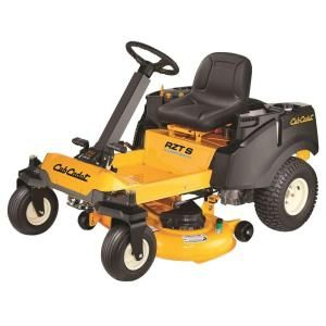 Cub Cadet RZT S 42 in. 22 HP V Twin Dual Hydrostatic Zero Turn Riding Mower with Steering Wheel Control DISCONTINUED RZT S 42