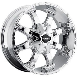 MKW Offroad M83 16 Chrome Wheel / Rim 8x6.5 with a 0mm Offset and a 130.80 Hub Bore. Partnumber M83 1680816500C Automotive