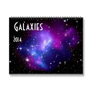 Galaxies 2014 Space Astronomy Wall Calendars