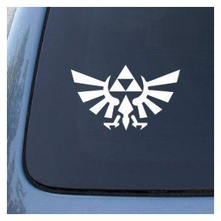 Aufkleber Legend of Zelda Triforce  152mm WHITE   Car, Truck, Notebook, Vinyl Decal Sticker Auto