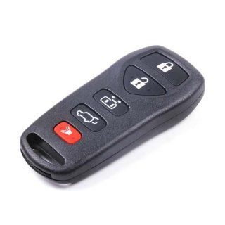TANSMITTER 5 BUTTON KEYLESS ENTRY REMOTE KEY CASE SHELL & PAD REPAIR for Nissan  Automotive Keyless Entry Remote Control Transmitter