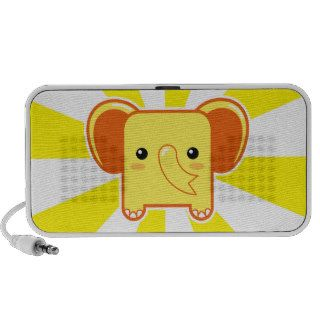 Kawaii elephant notebook speakers