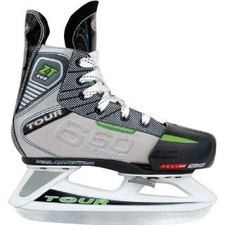 Tour Hockey ZT660 Youth Adjustable Ice Hockey Skates Sports & Outdoors