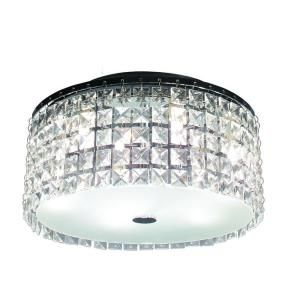 BAZZ Glam Cobalt 3 Light Brushed Chrome Ceiling Light PL3413CC
