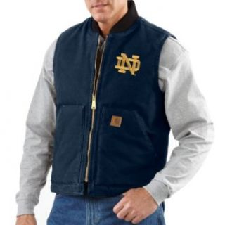 NCAA Notre Dame Fighting Irish Men's Sandstone Vest  Sports & Outdoors