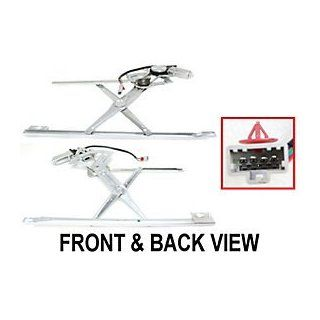 HONDA ACCORD 90 93 FRONT WINDOW REGULATOR LEFT SIDE, Power, 4 Door /Wagon Automotive