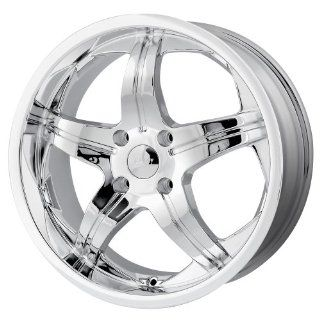 18x7.5 MPW Style MP107 (Chrome) Wheels/Rims 5x112 (MP107 8745C) Automotive