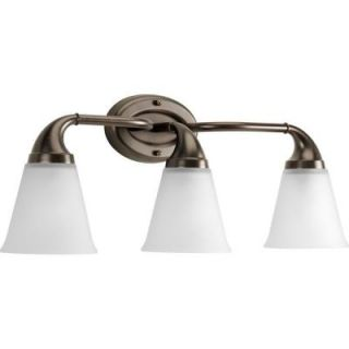 Progress Lighting Lahara Collection 3 Light Venetian Bronze Vanity Fixture P2760 74