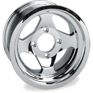 AMS Cast Aluminum Utility ATV Wheel   12x7   4+3 Offset   4/137   Chrome, Position Front, Wheel Rim Size 12x7, Rim Offset 4+3, Color Chrome, Bolt Pattern 4/137 0021270F CHR Automotive