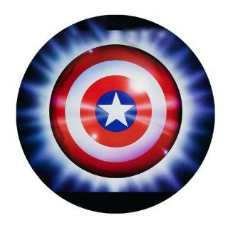 Custom Captain America Shield Mouse Pad Standard Round Mousepad WP 138