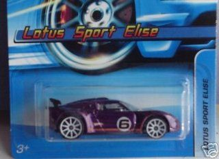Mattel Hot Wheels 2005 164 Scale Purple Lotus Sport Elise Die Cast Car #163 Toys & Games
